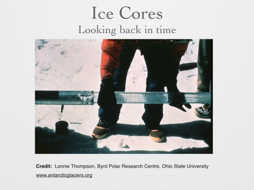 Figure 3 - Ice Cores