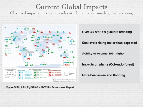 Figure 11 - Current Global Impacts