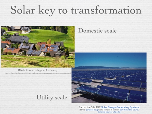 Figure 18 -Solar Key to Transformation