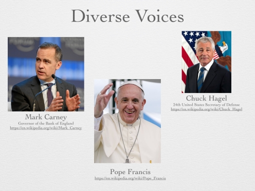 Figure 20 - Diverse Voices